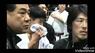 2007年第9回、 全世界空手道選手権大会に出場した福井裕樹 4回戦でアル...