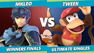 8.0 Gimvitational Winners Finals - TSM | Tweek (Diddy Kong) Vs. T1 | MkLeo (Marth) SSBU Ultimate