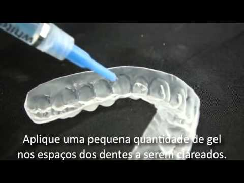 Clareamento Dental Caseiro Whiteness Perfect Passo A Passo Youtube