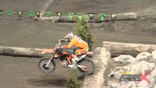 Endurocross 2012 Everett, WA - Taddy Blazusiak Hot Laps