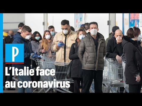Coronavirus en Italie: « Ici, les habitants se précipitent dans les supermarchés encore ouverts »