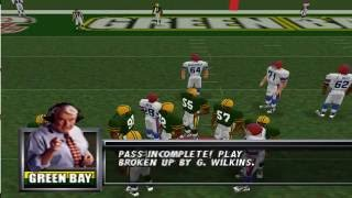 Madden Football 64 Nintendo 64 Gameplay HD