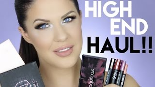 HUGE HIGH END MAKEUP HAUL | NEW RELEASES FROM BENEFIT, URBAN DECAY, ABH, SMASHBOX & MORE!!