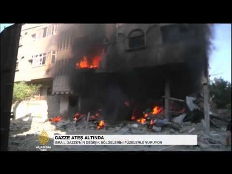 Gazze ateş altında