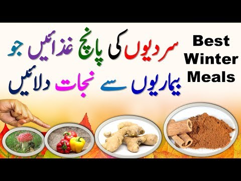 Best Winter Meals | Healthy Food & Healthy Eating Tips For Cold Weather | Health Tips In Hindi/Urdu