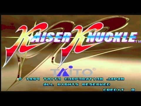 Kaiser Knuckle (1994) - (Full Game) Arcade MAME Longplay [123]