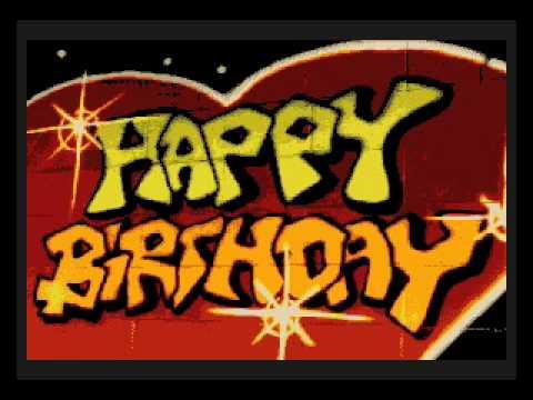 Happy Birthday To You (Video Karaoke Version)