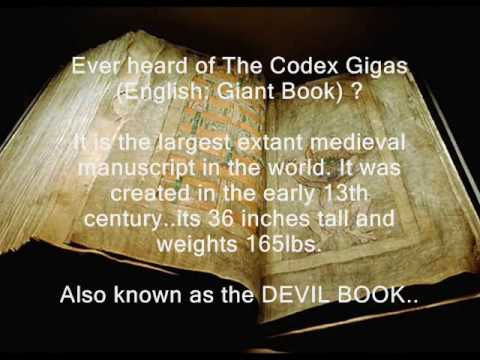 THE CODEX GIGAS (THE GIANT BOOK) - The Devil gives power to the people