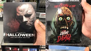 Horror movie Steelbooks at Best Buy