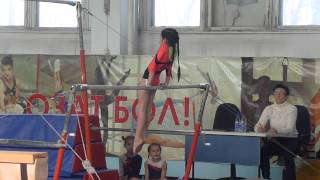 20140208 - Спортивная гимнастика. Койгельдина Арай. Брусья