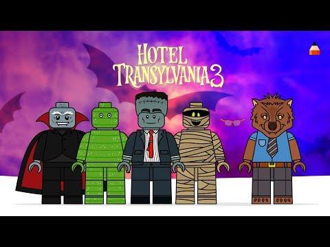Hotel Transylvania 3 Summer Vacation | Drawing Lego Minifigures | #2