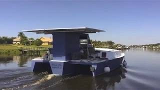 Electric Blue Solar Yacht -What was a Dream is now Reality!