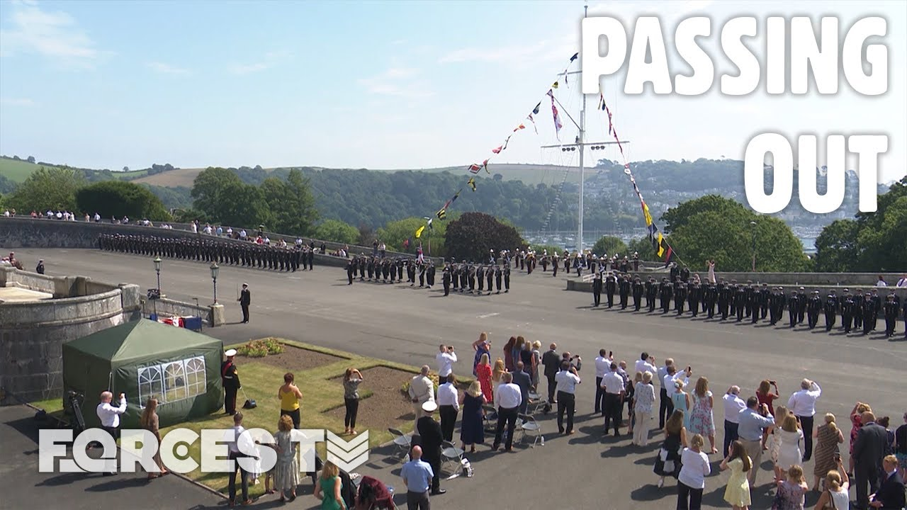 Royal Navy Officers And Ratings Pass Out Together At Dartmouth For The FIRST TIME EVER!⚓ | Forces TV