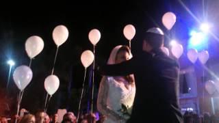 01.04.2015 - Свадьба - выход жениха и невесты