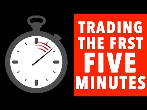Day Trading STOCK MARKET OPEN! 5 MINUTE CANDLE!