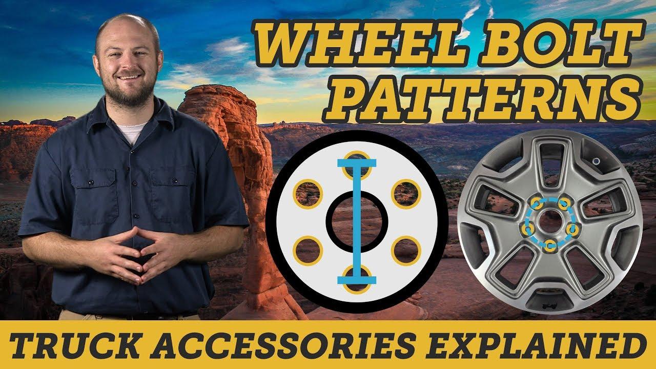 How To Measure Your Truck Or Jeep S Bolt Pattern Truck Accessories Explained Youtube