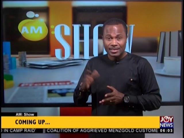 AM Show Intro on JoyNews (22-11-18)