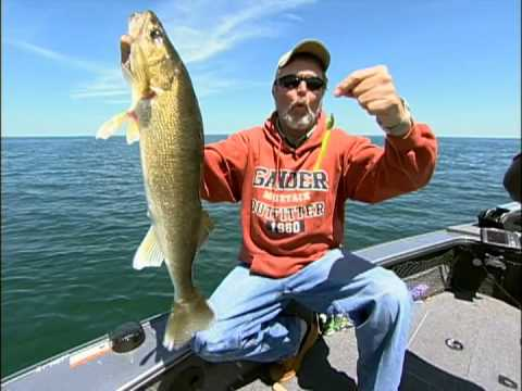 how to catch walleye from shore
