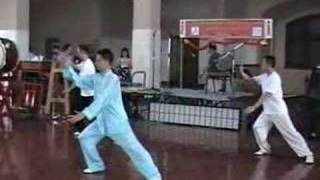 8 Form Taichi by Chen sitan in New York 2007 ( 陈思坦8式太极拳演示)