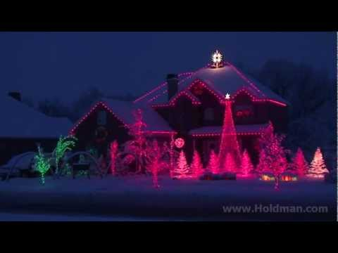 The Amazing Grace Christmas House - Holdman Christmas