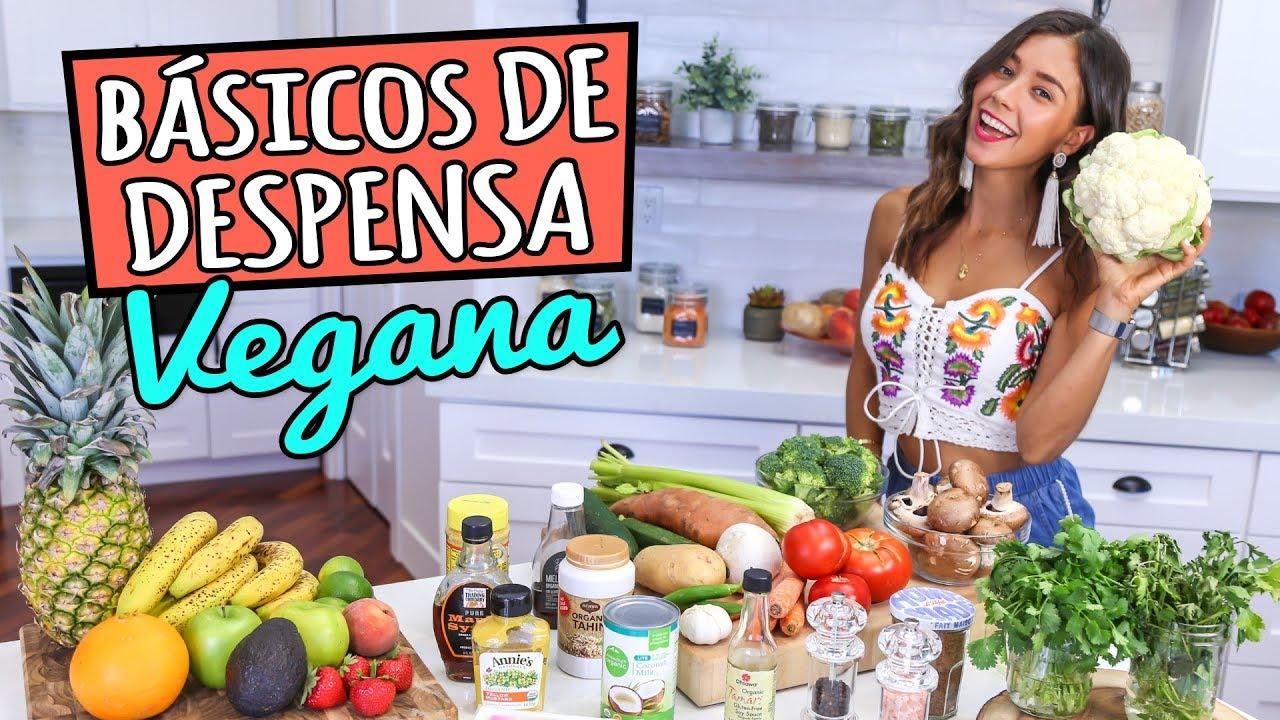 Basicos En Mi Despensa Vegana Lista De Compras Youtube