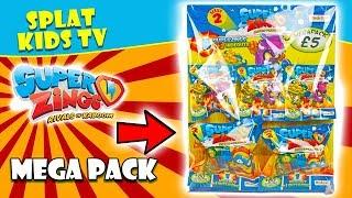 Superzings Series 2 Mega Pack Unboxing