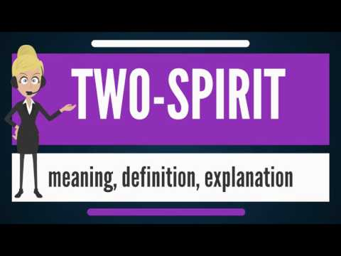 What is TWO-SPIRIT? What does TWO-SPIRIT mean? TWO-SPIRIT meaning, definition & explanation