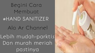 Don't panic || this is the easiest way to make your own hand sanitizer