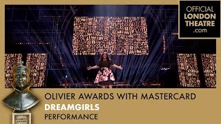 Amber Riley performs And I Am Telling You from the Olivier Awards 2017 with Mastercard