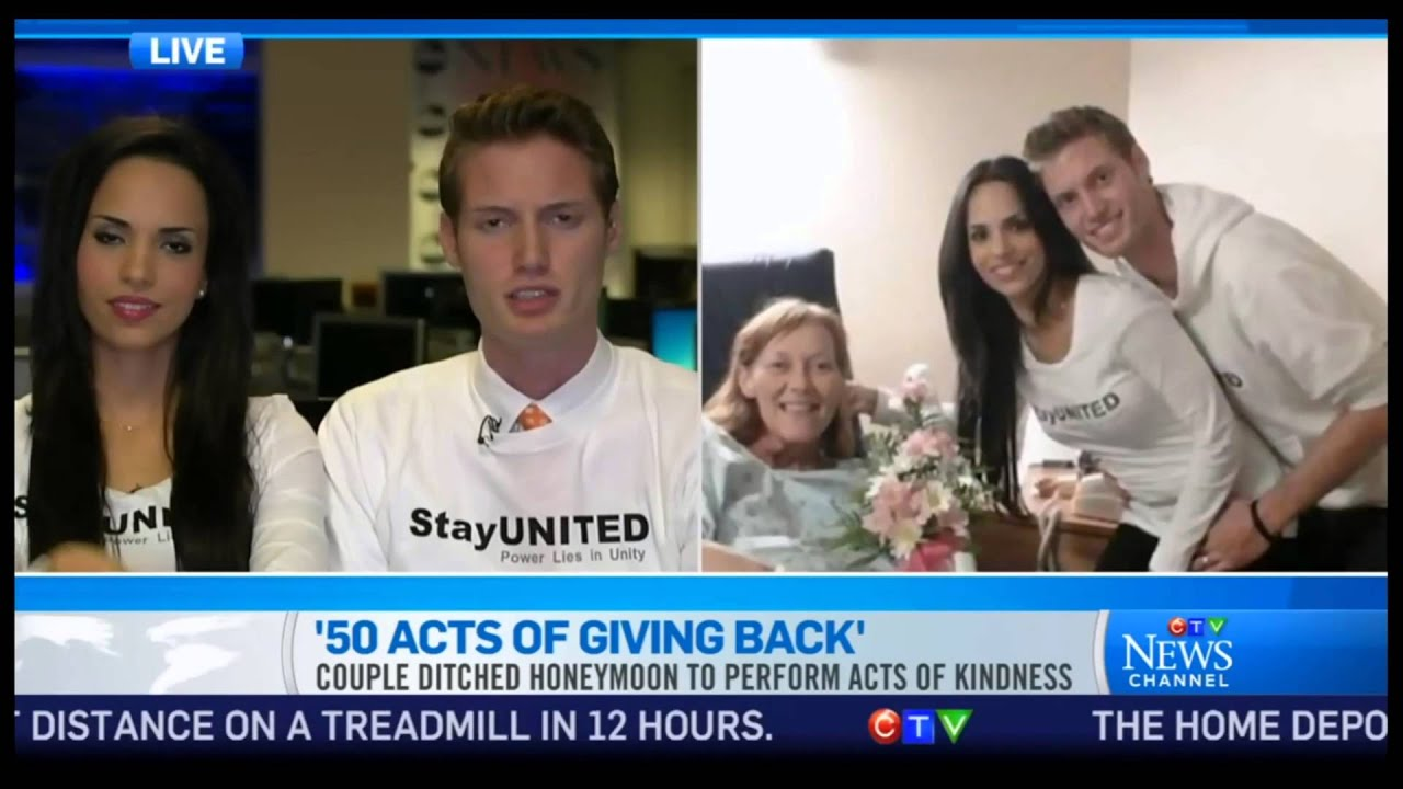 Mark & Ismini Svensson live on CTV News Canada