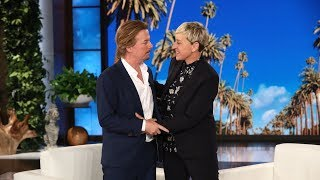 Смотреть David Spade Thought Ellen Was Justin Bieber at Her Birthday Party онлайн