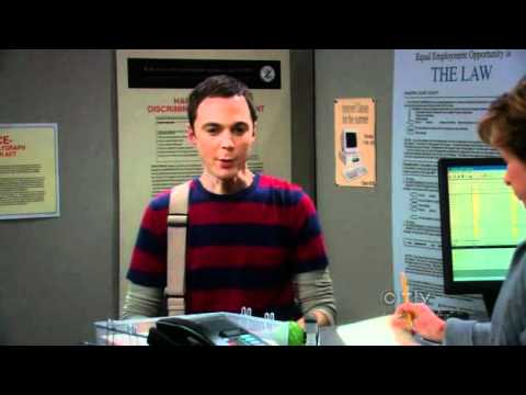 The Big Bang Theory S03E14 employment office