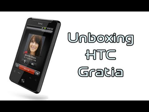 HTC Gratia, unboxing in italiano by AndroidWorld.it