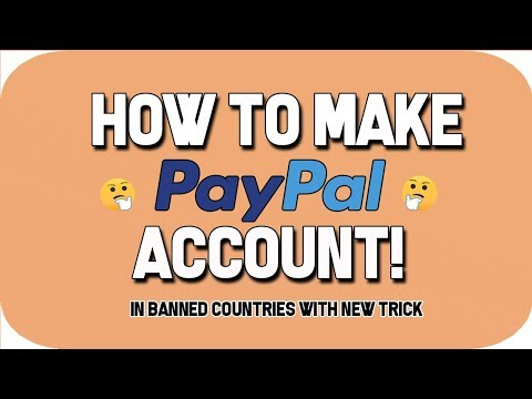 How can i change the country on my paypal account