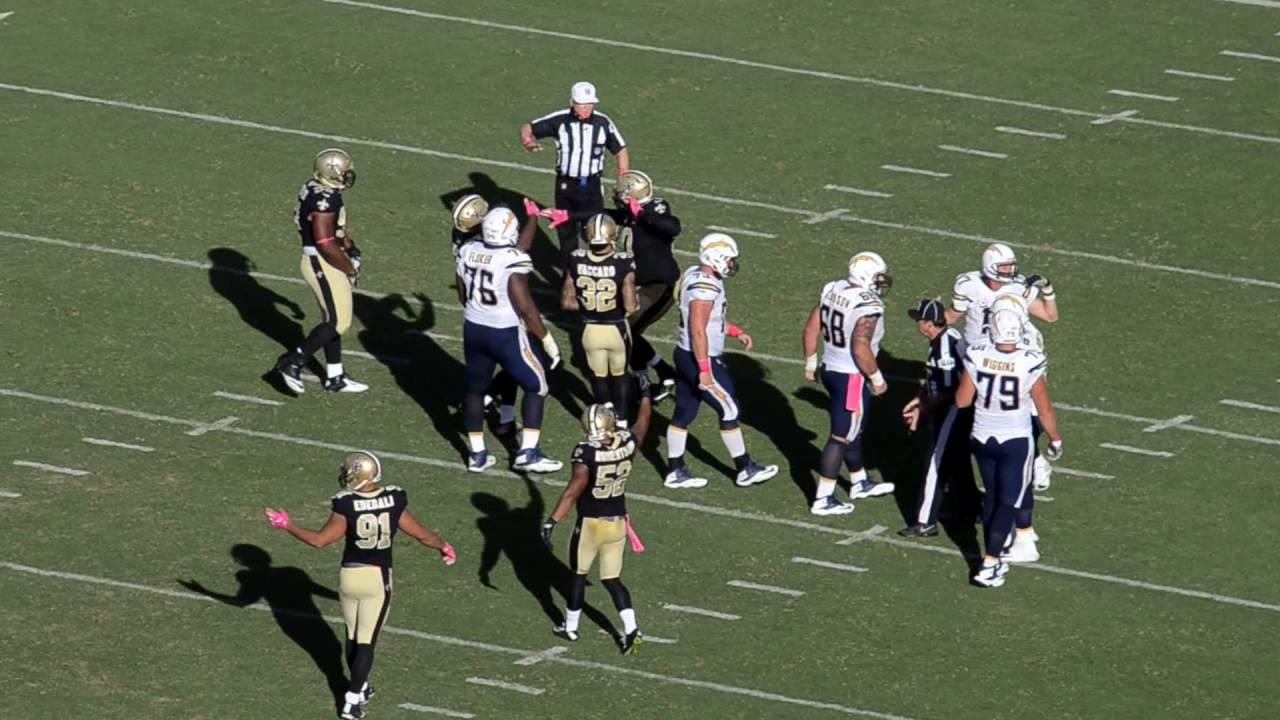 Payton speaks after Saints win over Chargers