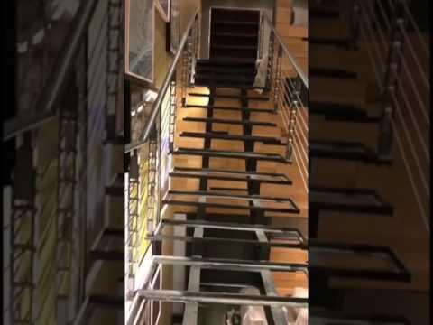 طريقة عمل درج حديد مودرن مساعد القفاري Youtube