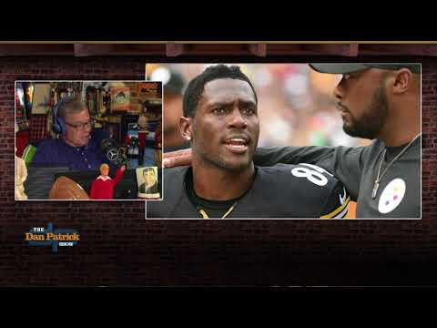 "Dan Patrick on Antonio Brown's Latest Drama: ""Pittsburgh Just Makes Me Nervous"" | 9/13/18"