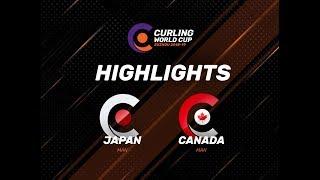 Japan v Canada - Men - Highlights - Curling World Cup First Leg - Suzhou