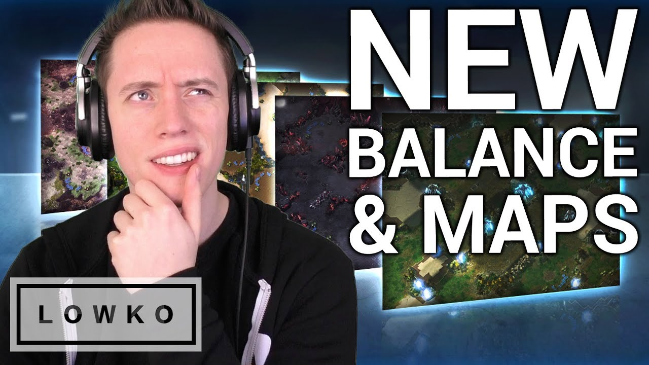 StarCraft 2: NEW Balance Changes & Ladder Maps!