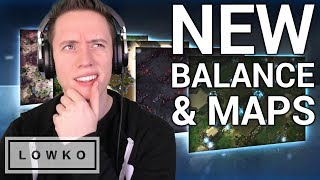 StarCraft 2: NEW Balance Changes & Ladder Maps!