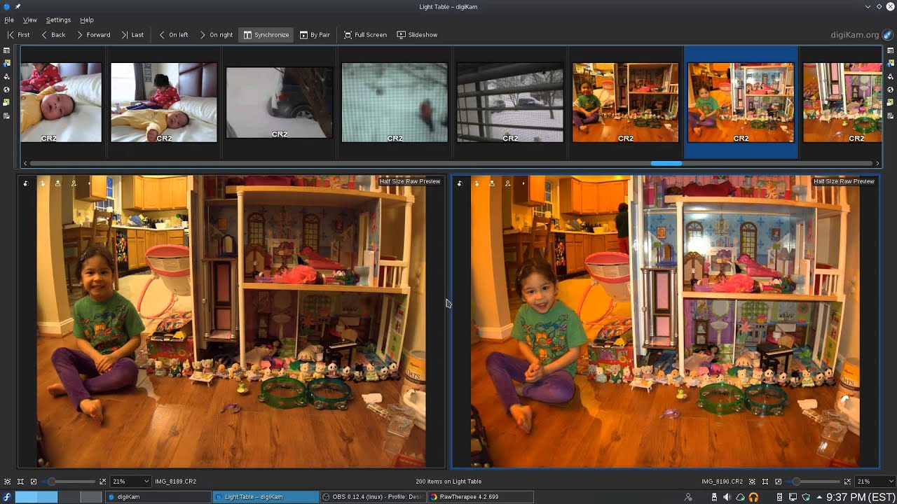 An updated Digital Photography Workflow with Digikam and