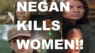 The Walking Dead Season 7 - NEGAN KILLS WOMEN - CONFIRMED!!!
