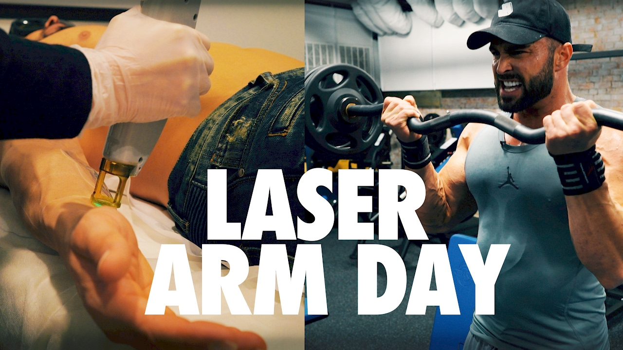 Laser Arm Day- 30 Minute Arm Challenge - YouTube
