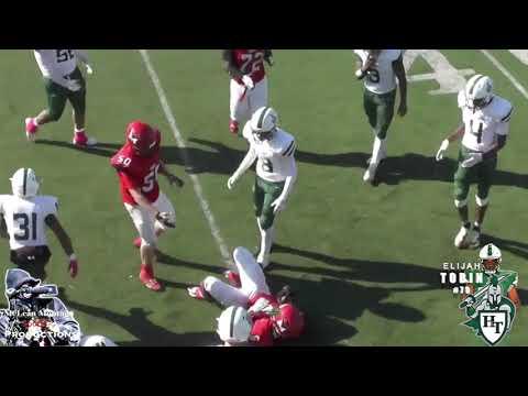 Elijah Tobin  Holy Trinity High School Career Highlights