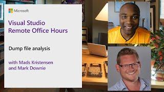 Visual Studio Remote Office Hours - Dump file analysis
