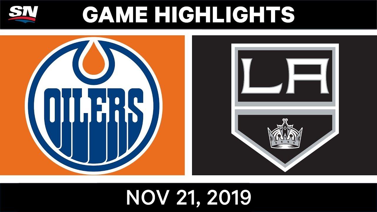 NHL Highlights | Oilers vs Kings – Nov. 21, 2019