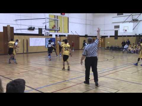 Denny Middle School(Isiah Hart#15) vs. Whitman MS