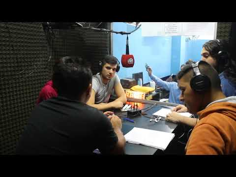 "Edgardo Gustavo ""Chango"" López clase de RADIO II 2do B en el ISPeD. Parte XIV."