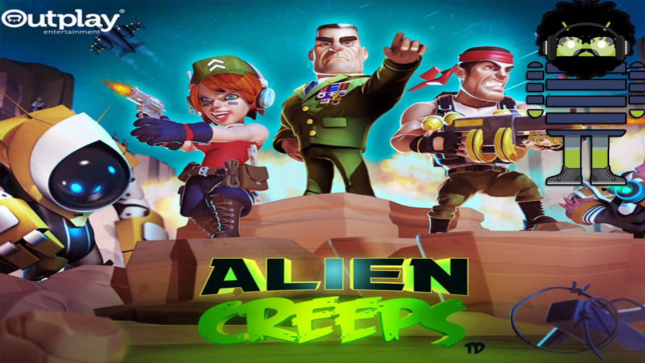 Android Games: Alien Creeps TD - [First Look]