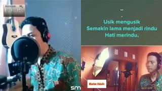 Gurauan Berkasih - Achik Spin feat Siti Nordiana (video karaoke duet bareng lirik tanpa vokal) cover